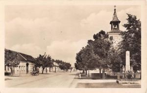 OSTROZSKE PREDMESTI ~ZVONICE CZECHOSLOVAKIA STREET VIEW PHOTO POSTCARD 1948