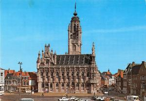 GG11963 Netherlands Middleburg Stadhuis City Hall Street Auto Cars