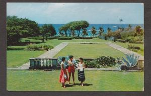 Barbados View Of Sam Lords Grounds, St Philip - Used 1960s Some Wear