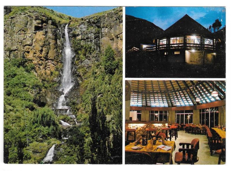 Africa Lesotho Hotel Molimo-Nthuse Lodge Multiview Postcard