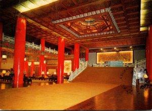 Taiwan Taipei City Grand Hotel Lobby 1978