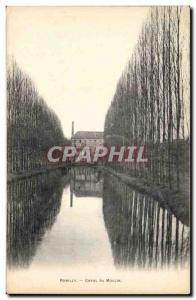 Romilly - Canal du Moulin - Old Postcard