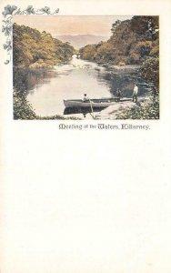 Meeting of the Waters KILLARNEY County Kerry, Ireland c1900s Vintage Postcard