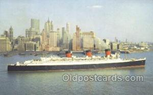 Queen Mary, Cunard White Star Line Ship, Ships, Postcard Post Cards  Queen Ma...