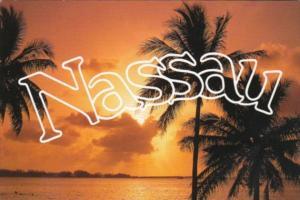 Bahamas Nassau Sunset In Paradise