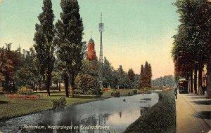 Netherlands Rotterdam Westersingel en Eendrachtsweg Postcard