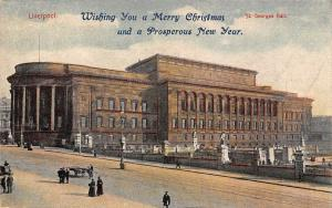 Liverpool, St. George's Hall, Wishing You a Merry Christmas, Prosperous New Year