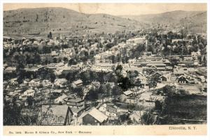 13593   Aerial View of Ellenville  NY