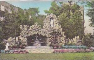 Michigan Onekama Grota Matki Boskiel Seminarium Polske Handcolored Albertype