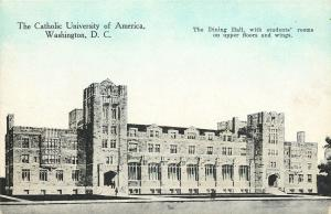Washington DC~Catholic University Of America~Dining Hall~Rooms~Blue Sky~1910 PC