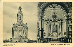 Slovakia / Hungary Magyarszogyen church interior