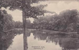 DELAWARE, Ohio, 1900-1910's; Greenwood Lake