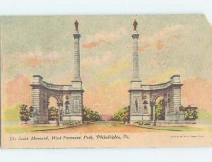 Pre-1907 SMITH MEMORIAL AT FAIRMOUNT PARK Philadelphia Pennsylvania PA hp9843