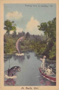 Trolling is Exciting at PERTH , Ontario , Canada , 30-40s
