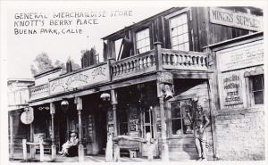 General Merchandise Store Knotts Berry Place Buena Park California Real Photo