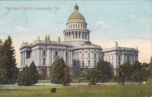 California Sacramento The State Capitol 1908