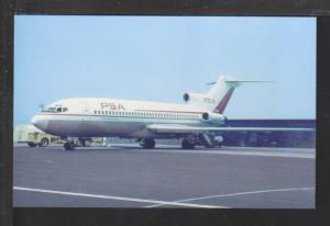 Pacific Southwest Boeing 727 Postcard