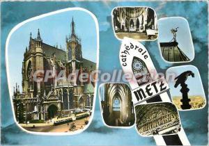 Modern Postcard Metz (Moselle) The Cathedrle Chorus