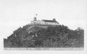 Northampton Massachusetts Mt Holyoke Hotel Real Photo Antique Postcard K11489