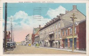 PRESCOTT , Ontario , 1928 ; King Street