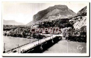 Old Postcard Grenoble Bridge Gate France ot the Neron