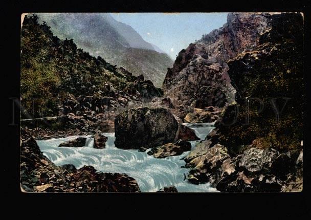 049524 CAUCASUS Military - ossetic road Karsar gorge