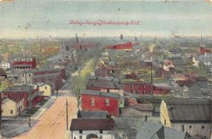 Tiffin Ohio Bird S Eye View North Overlooking Town 1913 Postcard Hippostcard