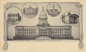 LOUISVILLE, Kentucky, 1901-07; New State House, Four previous State Houses