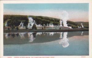 Upper Gayser Basin Yellowstone National Park