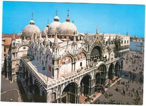 Italy, VENEZIA, Venice, Saint Mark's Basilica, unused Postcard