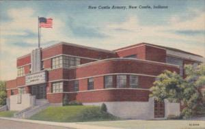 Indiana New Castle The Armory Curteich