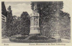 Valkenberg , Netherlands , 1930s ; Nassau Monument