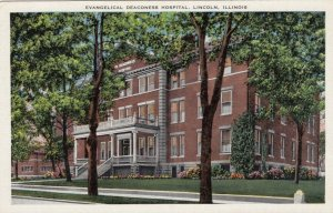 LINCOLN, Illinois, 1930-40s; Evangelical Deaconess Hospital