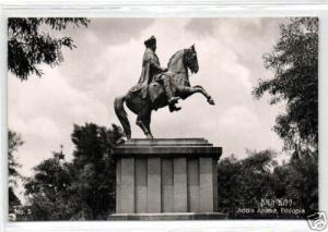ethiopia, ADDIS ABABA, Statue Emperor Menelik 50s RPPC