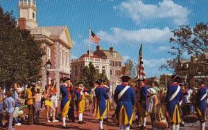 Liberty Square Fife And Drum Corps Walt Disney World Orlando Florida