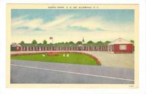 Siesta Court, Allendale, South Carolina, 40-50s