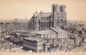 France Reims La Cathedrale