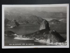 Brazil: Rio De Janeiro - Pao De Assugar, Old RP Postcard