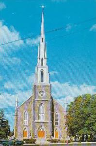 L'Eglise St Patrice, Church of St Patrice, Riviere du Loup, Quebec, Canada, 4...