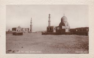 RP: CAIRO , Egypt , 1900-10s; The Tomb of the Mamelouks