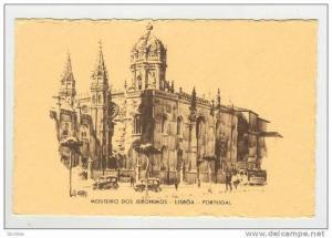 Lisboa.-Mosteiro Dos Jeronimos, Portugal, 20-40s