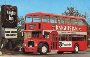 Knights Inn Double Decker Bus