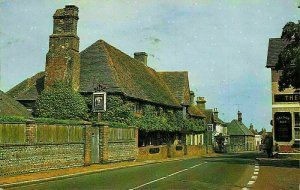 Old Mint House and High Street Pevensey Cottages Postcard