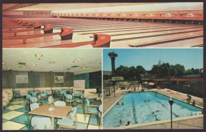 Rancho 42 Lanes,Salt Lake City,UT Bowling Alley Postcard