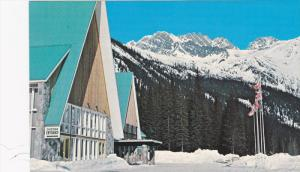 Snow, The Hermit Range, Entrance to The Northlander Motel, Rogers Pass, Briti...
