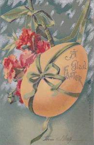 Easter Ribbon Wrapped Easter Egg