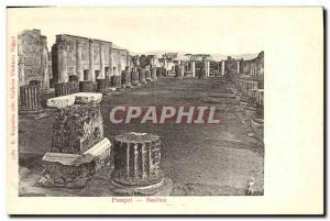 Old Postcard Pompei Basilica