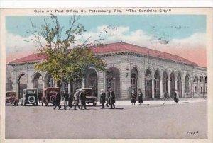 Florida St Petersburg Open Air Post Office 1924
