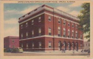 Alabama Opelika United States Post Office And Court House