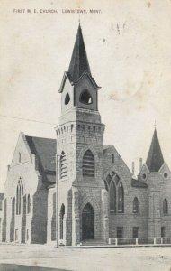 LEWISTOWN , Montana, 1909 ; First M.E. Church